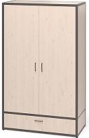 Шкаф Millwood Neo Loft ML-5 (дуб беленный/металл черный) -