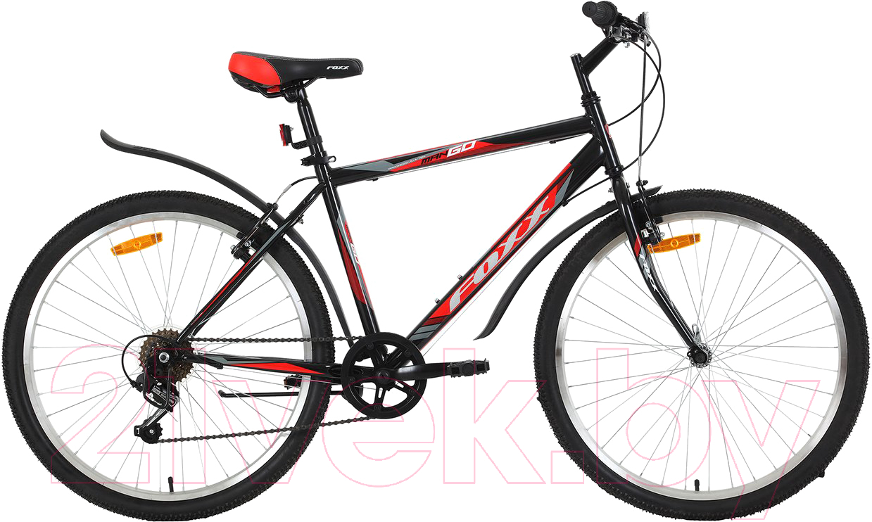 Купить Велосипед Foxx, Mango 26SHV.MANGO.18BK9, Россия