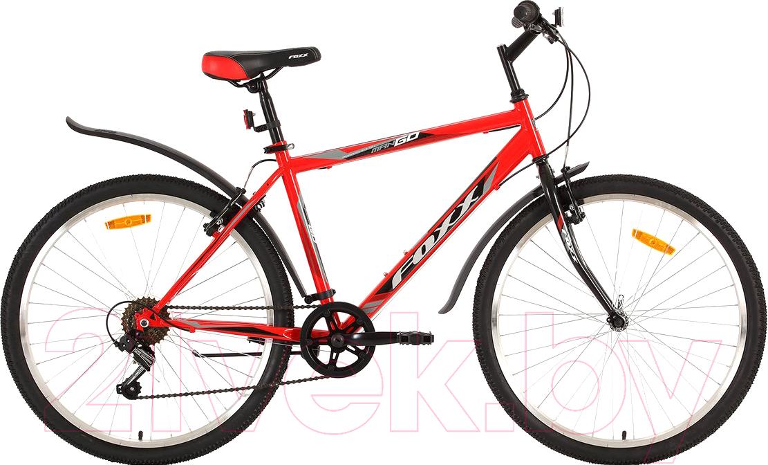 Купить Велосипед Foxx, Mango 26SHV.MANGO.18RD9, Россия