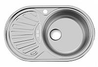 Мойка кухонная Ukinox Фаворит FAP770.480 GW8K 1R -