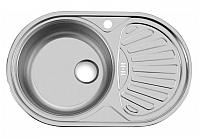 Мойка кухонная Ukinox Фаворит FAP770.480 GW8K 2L -