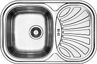Мойка кухонная Ukinox Галант GAP737.488 -GW6K 2L -