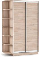 Шкаф Империал Тетрис ДД 120x220 (дуб сонома) -
