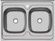 Мойка кухонная Ukinox Стандарт STM800.600 20 5C 3C -