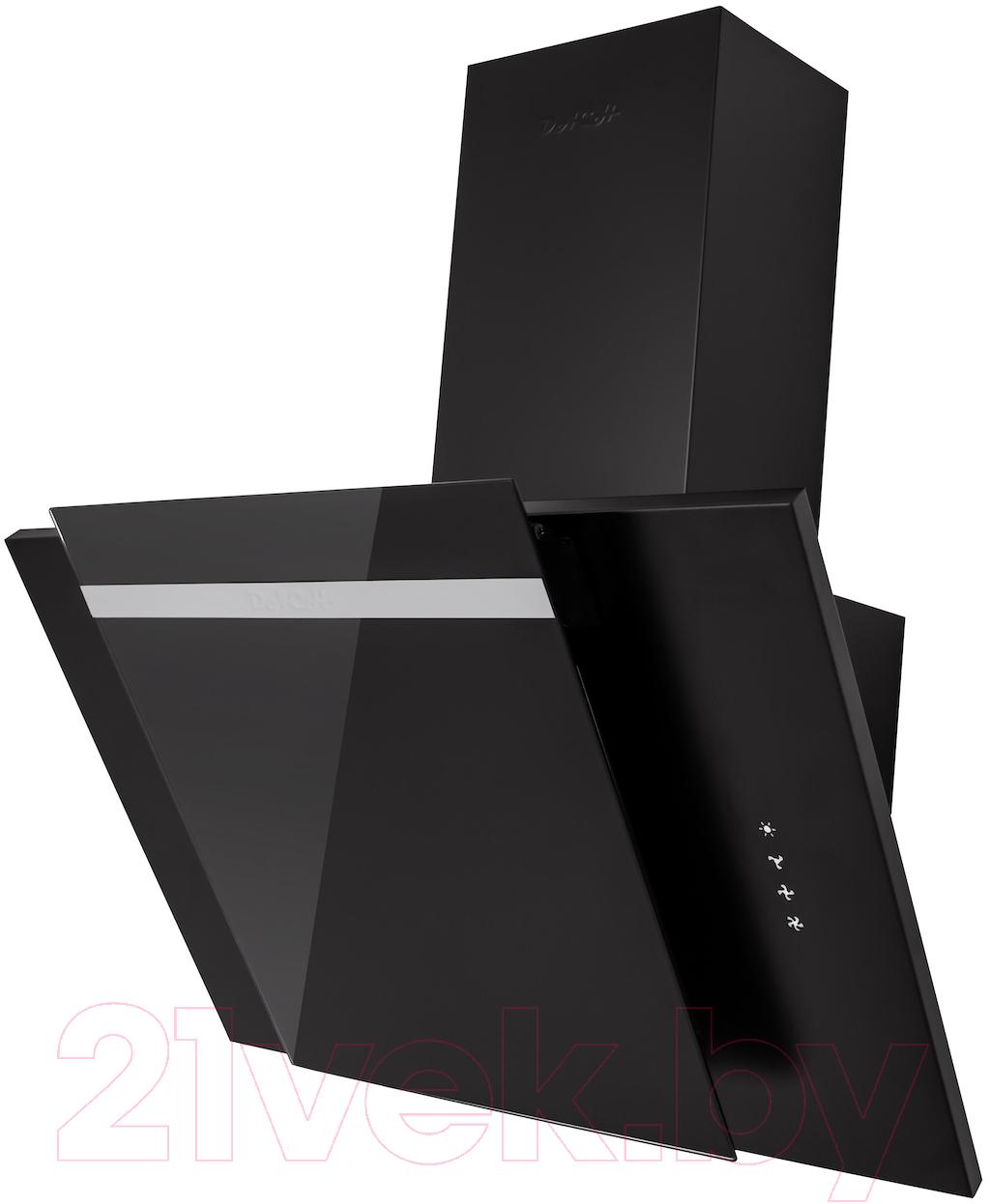 Купить Вытяжка декоративная Dach, Violetta 60 (черный), Китай