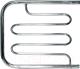 Полотенцесушитель водяной НИКА ПМ-2 50x80 / 570580100 (с полкой) -