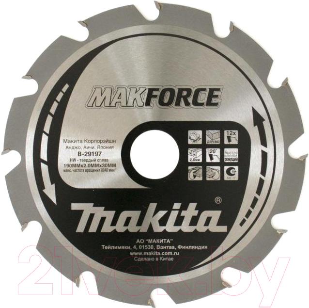 Купить Пильный диск Makita, B-29197, Китай