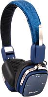 Наушники-гарнитура Crown CMBH-9301 (синий джинс) -