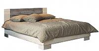 Двуспальная кровать SV-мебель Спальня Лагуна 2 160x200 (дуб сонома/сосна джексон) -
