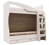 Двухъярусная кровать SV-мебель ДМ-16 Вега 80x186 (сосна карелия) -