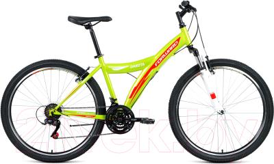 Велосипед Forward Dakota 26 2.0 2019 / RBKW9MN6Q015 (16.5, зеленый/красный)
