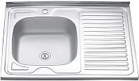 Мойка кухонная Melana 8060 L 0.6/160 / 016t L*10 -