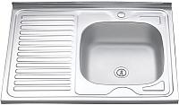 Мойка кухонная Melana 8060 R 0.6/160 / 016t R*10 -