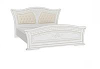 Каркас кровати Империал Каролина без ОМ МИ 180 (белый/золото) -