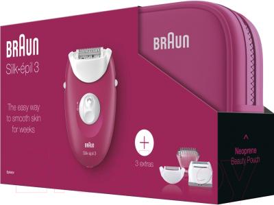Эпилятор Braun SE 3-415GS