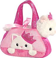 Мягкая игрушка Aurora World Котик Принцесса в сумочке / 32791 -