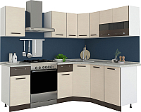 Готовая кухня Империал Модена 1.65x1.65 -