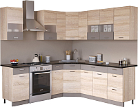 Готовая кухня Империал Николь 1.65x2.05 -