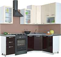 Готовая кухня Империал Равенна Лофт Высокая 1.65x1.45 -