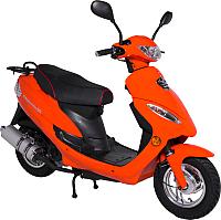 Скутер Moto-Italy Cinquanta 50 (черный/оранжевый) -