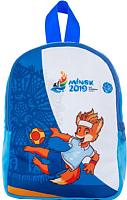 Детский рюкзак Malvina Лисенок Рюкзашкин 14.15.8 (синий) -