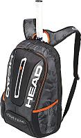 Рюкзак теннисный Head Tour Team 283148-BKSI (черный/серебристый) -