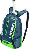 Рюкзак теннисный Head Tour Team 283148-NVGE (синий/зеленый) -