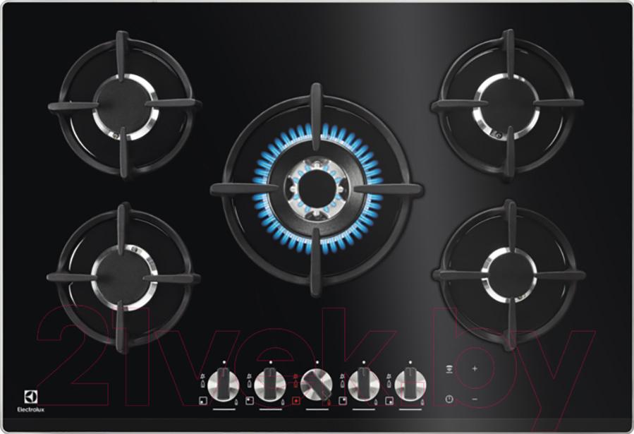 Купить Газовая варочная панель Electrolux, GPE373NK, Италия