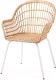 Кресло Ikea Нильсове 404.429.73 (белый) -