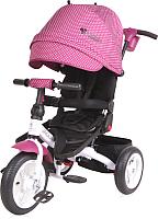 Детский велосипед с ручкой Lorelli Jaguar Air Violet / 10050391996 -