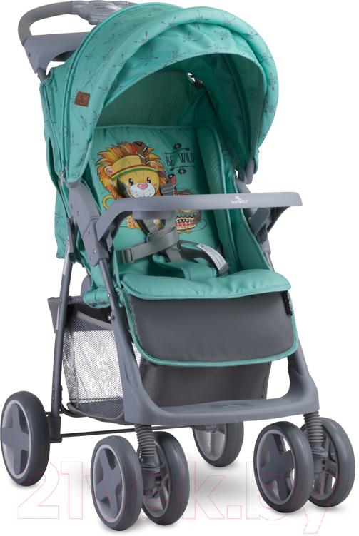 Купить Детская прогулочная коляска Lorelli, Foxy Green Indians (10020521920A), Китай