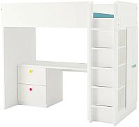 Кровать-чердак Ikea Стува/Фолья 092.752.69 -