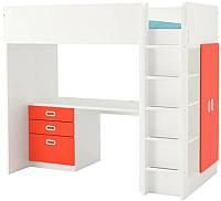 Кровать-чердак Ikea Стува/Фритидс 292.580.23 -