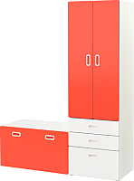 Комплект мебели для жилой комнаты Ikea Стува/Фритидс 492.530.53 -