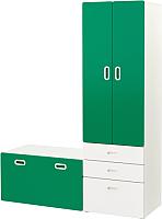 Комплект мебели для жилой комнаты Ikea Стува/Фритидс 492.661.16 -