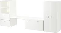 Комплект мебели для жилой комнаты Ikea Стува/Фритидс 792.531.36 -