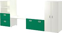 Комплект мебели для жилой комнаты Ikea Стува/Фритидс 792.672.61 -