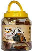 Лакомство для собак Мнямс Кроличьи уши с куриным мясом / 702600 (700г) -