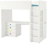 Кровать-чердак Ikea Стува/Фолья 792.752.42 -