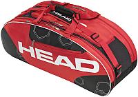 Сумка теннисная Head Elite All Court / 283323 (черный/красный) -