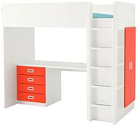 Кровать-чердак Ikea Стува/Фритидс 892.621.83 -