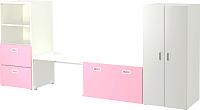 Комплект мебели для жилой комнаты Ikea Стува/Фритидс 892.672.51 -