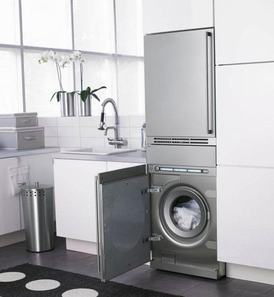 встраиваемая стиральная машина фото