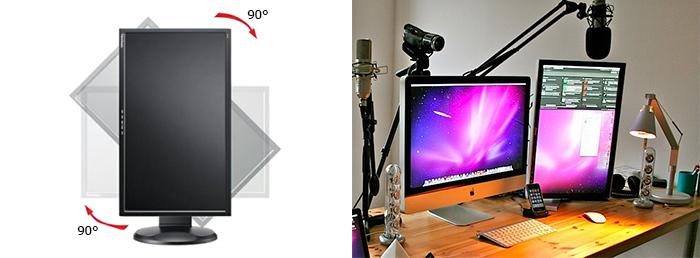 монитор pivot фото