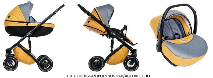 коляски с модульной конструкцией