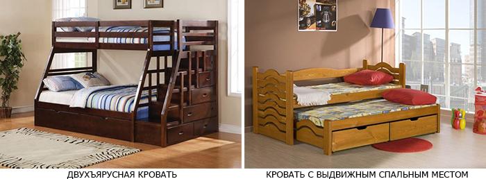 двухярусные кровати фото