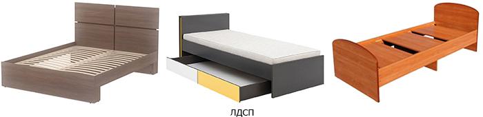 кровати из лдсп фото