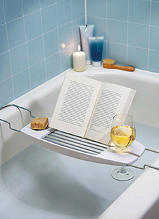 подставка для книг в ванную