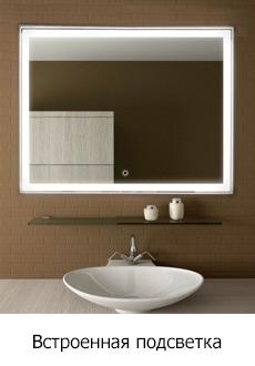 Зеркало со встроенной подсветкой