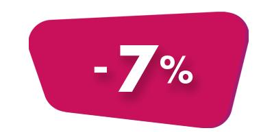 товары со скидкой 7%